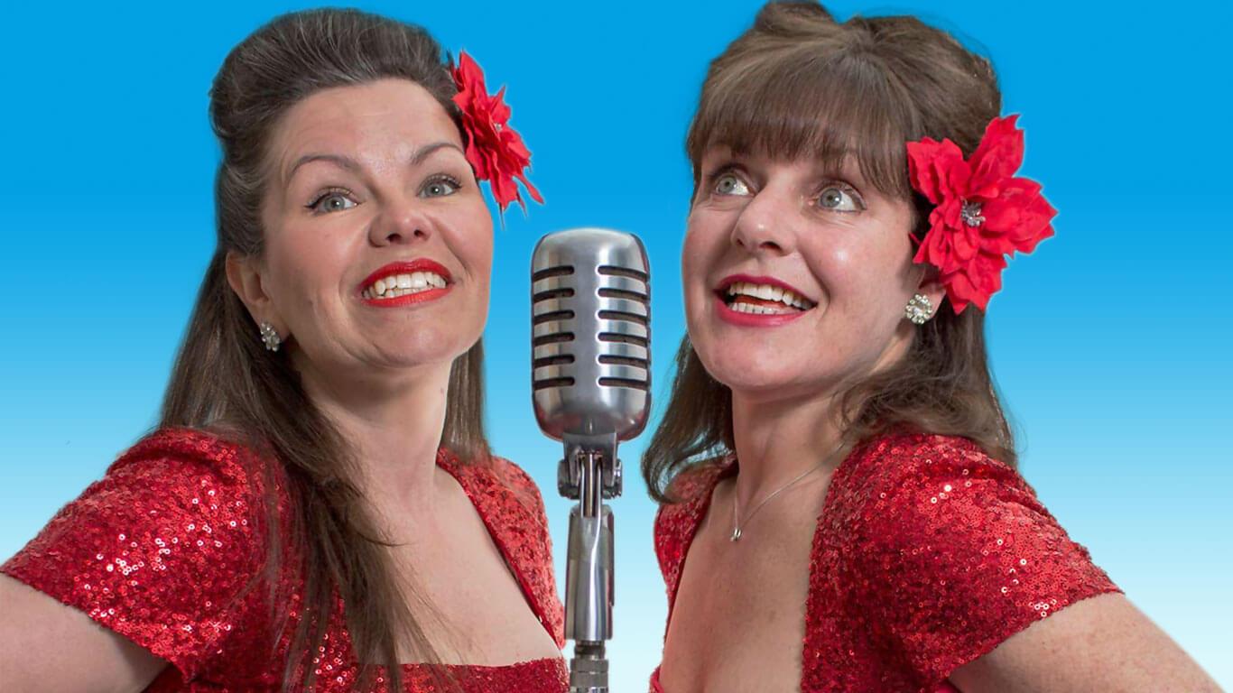 Joan and Laura singing